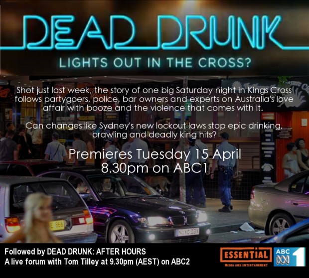 Dead Drunk: Lights out in the Cross?