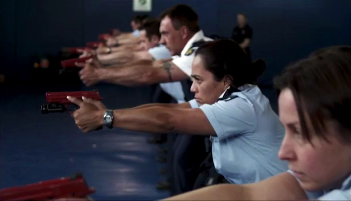 Trigger Point - Weapons training