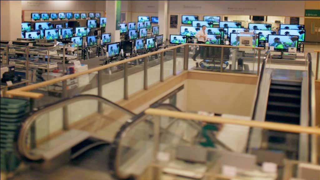 tvs - inside john lewis