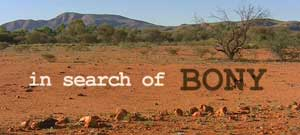 in search of bony