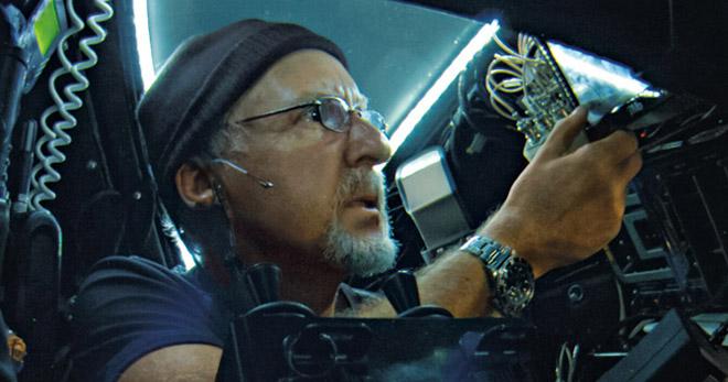 James Cameron's Deepea Challenge 3D - Jim pilots