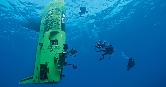 James Cameron's Deepea Challenge 3D - Test dive