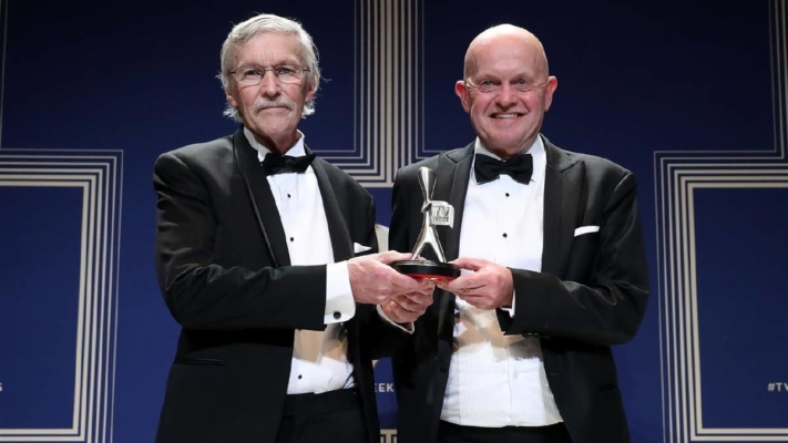 Conviction - Terry Carlyon and John Silvester at the Logies