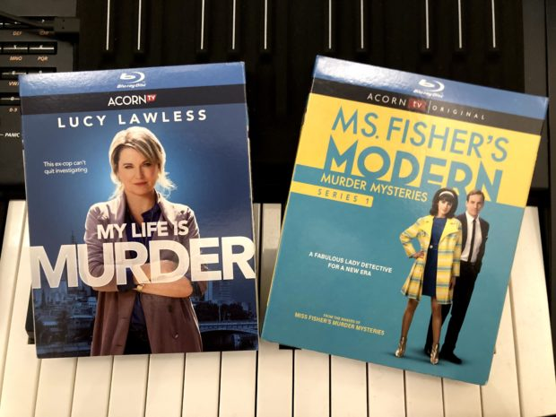 Brett Aplin composer of music for film and television - Ms Fisher's Modern Murder Mysteries My Life Is Murder