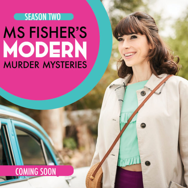 Brett Aplin composer of music for film and television - Ms Fisher's Modern Murder Mysteries