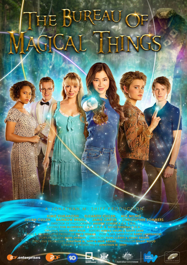 Brett Aplin composer of music for film and television - The Bureau of Magical Things Poster
